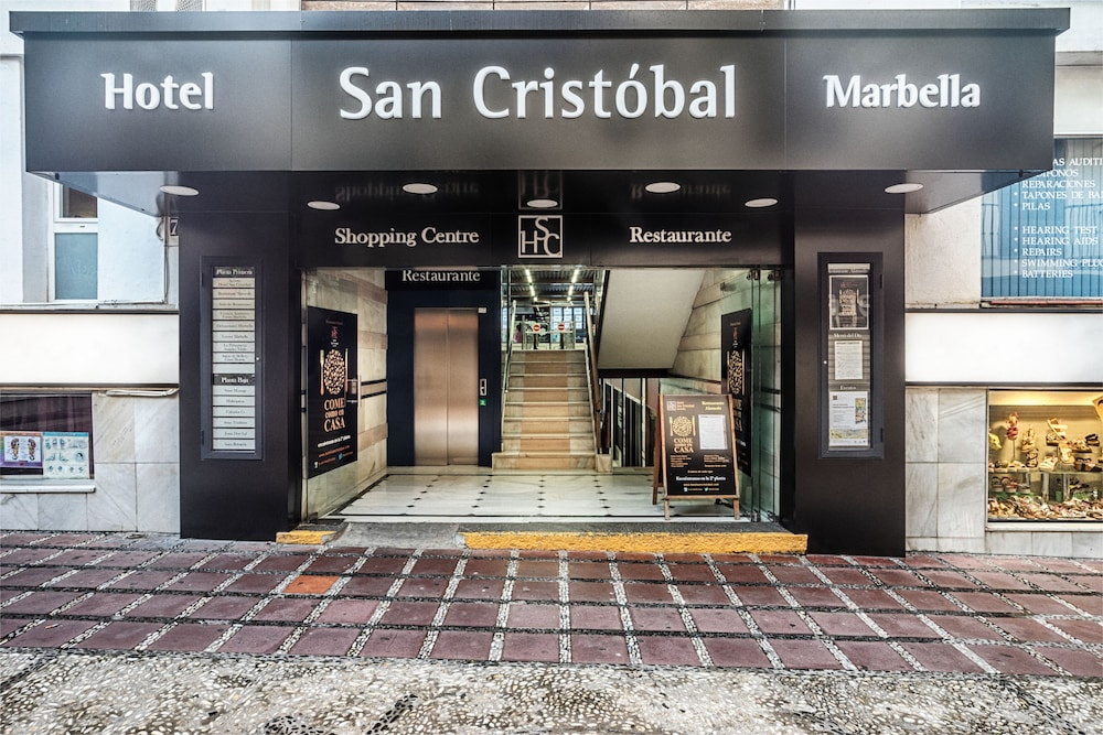 Property Entrance, Hotel San Cristóbal