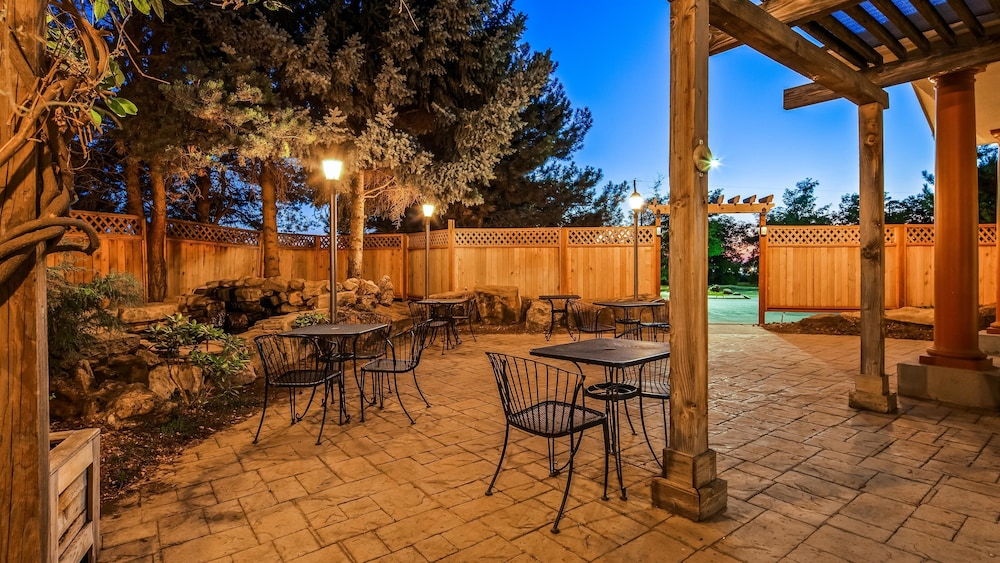 Terrace/Patio, Best Western Plus Caldwell Inn & Suites