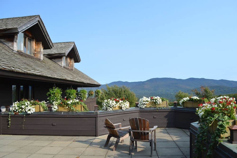 Terrace/Patio, Trapp Family Lodge