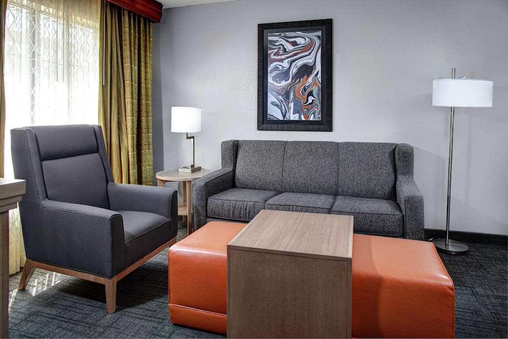 Living Area, Homewood Suites by Hilton Richmond-West End/Innsbrook