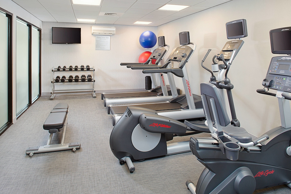Fitness Facility, Courtyard by Marriott Manchester - Boston Regional Airport