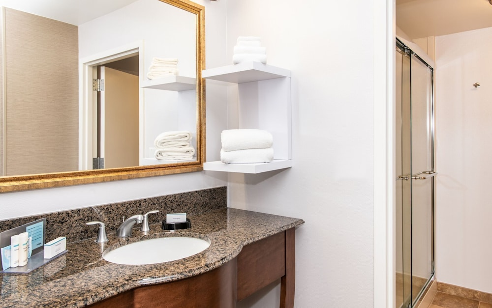 Bathroom, Hampton Inn & Suites Rochester-Victor/Fairport