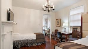 Individually decorated, individually furnished, iron/ironing board