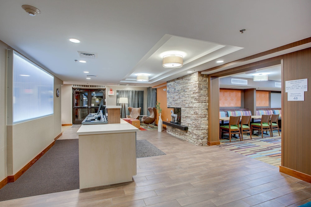 Lobby, Fairfield Inn by Marriott Burlington Williston