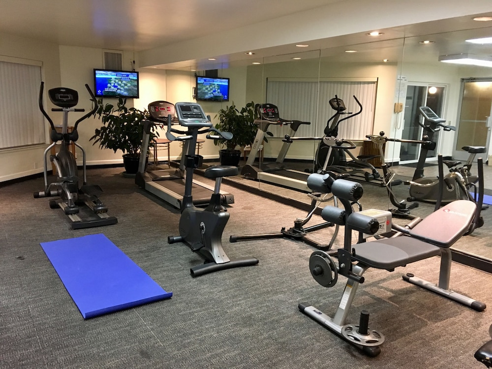Gym, Pacific Motor Inn