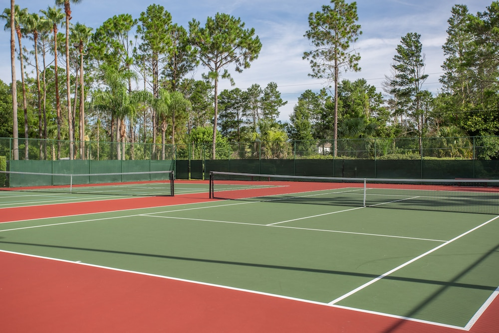 Tennis Court, Mystic Dunes Resort & Golf Club by Diamond Resorts