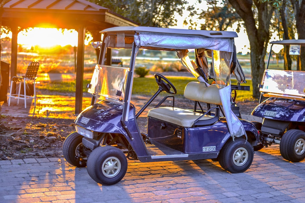 Golf Cart, Mystic Dunes Resort & Golf Club by Diamond Resorts