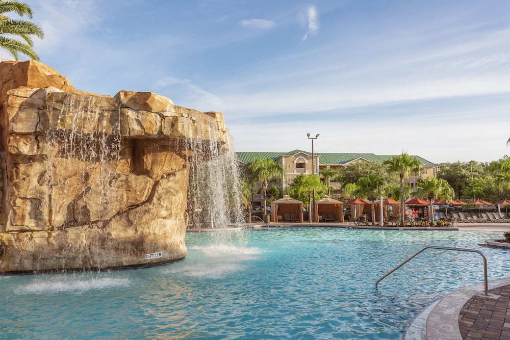 Pool Waterfall, Mystic Dunes Resort & Golf Club by Diamond Resorts