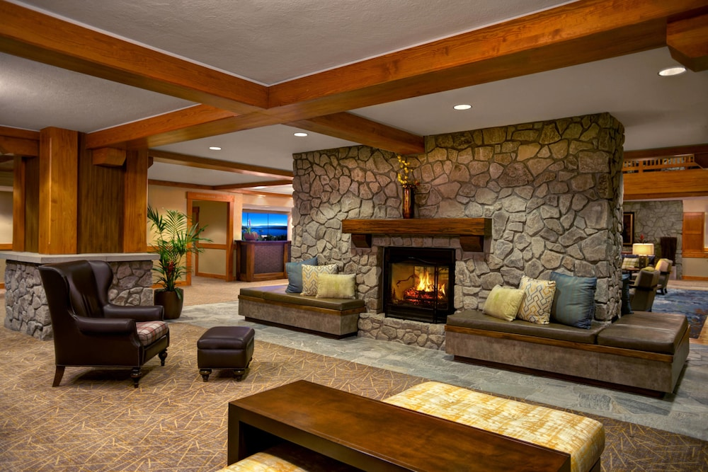 Fireplace, Grand Residences by Marriott, Lake Tahoe