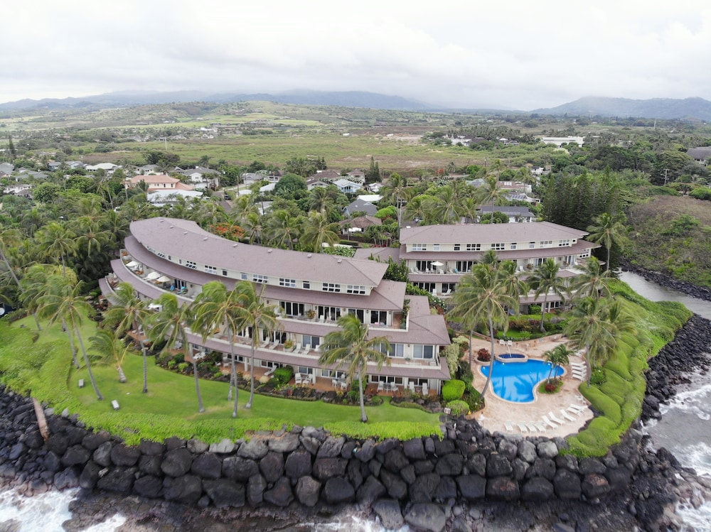 Aerial View, Whalers Cove Oceanfront Resort