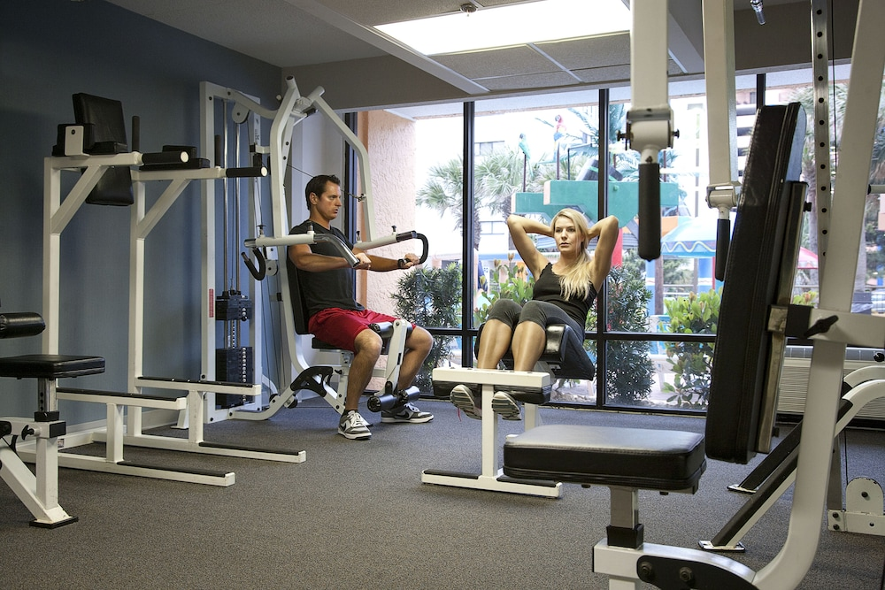 Gym, The Caravelle Resort