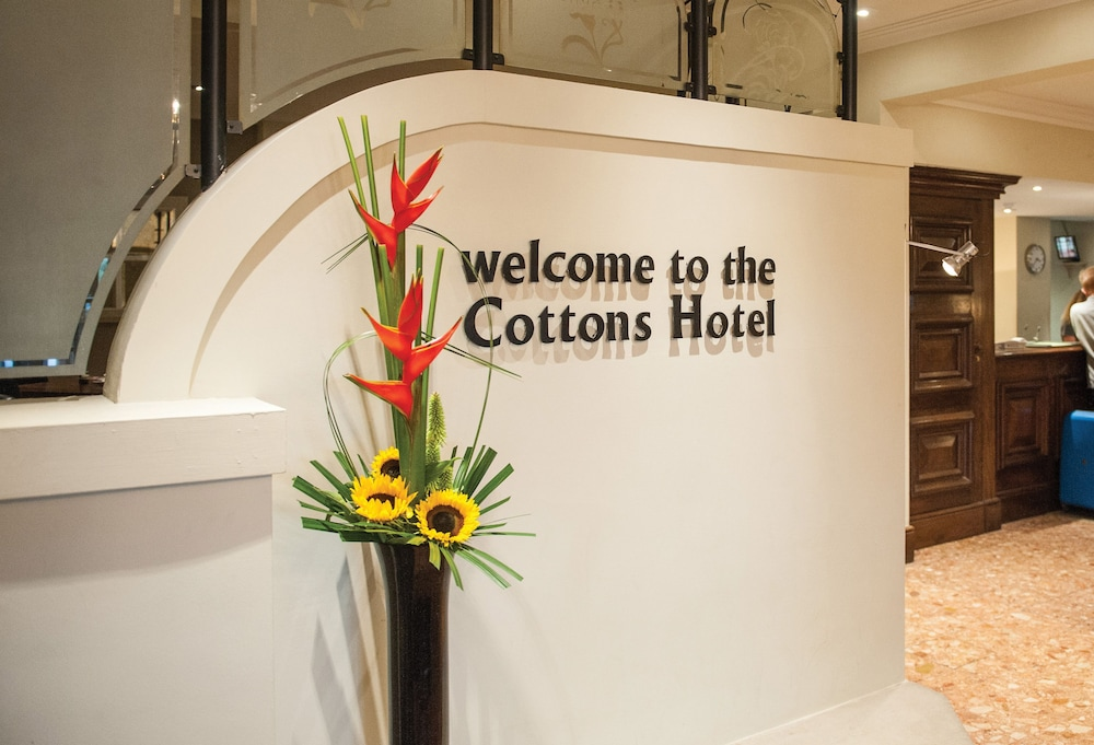 Interior Entrance, Cottons Hotel & Spa