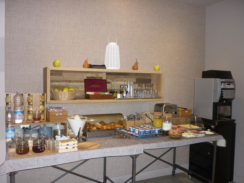 Breakfast buffet, Hotel Orcagna