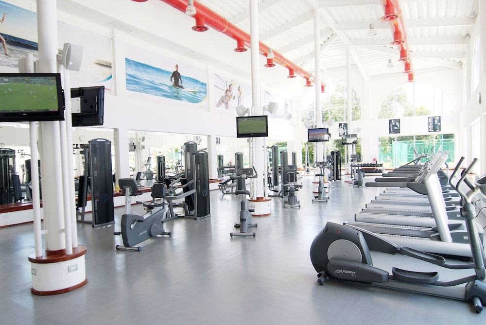 Gym, Sandos Playacar All Inclusive