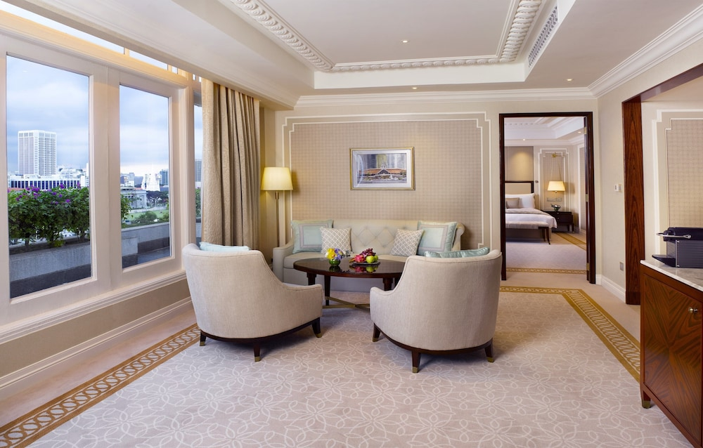 Living Area, The Fullerton Hotel Singapore