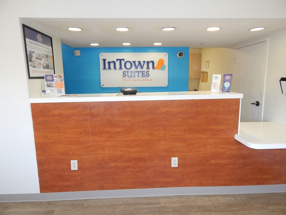 Check-in/Check-out Kiosk, InTown Suites Extended Stay Lewisville TX East Corporate Drive