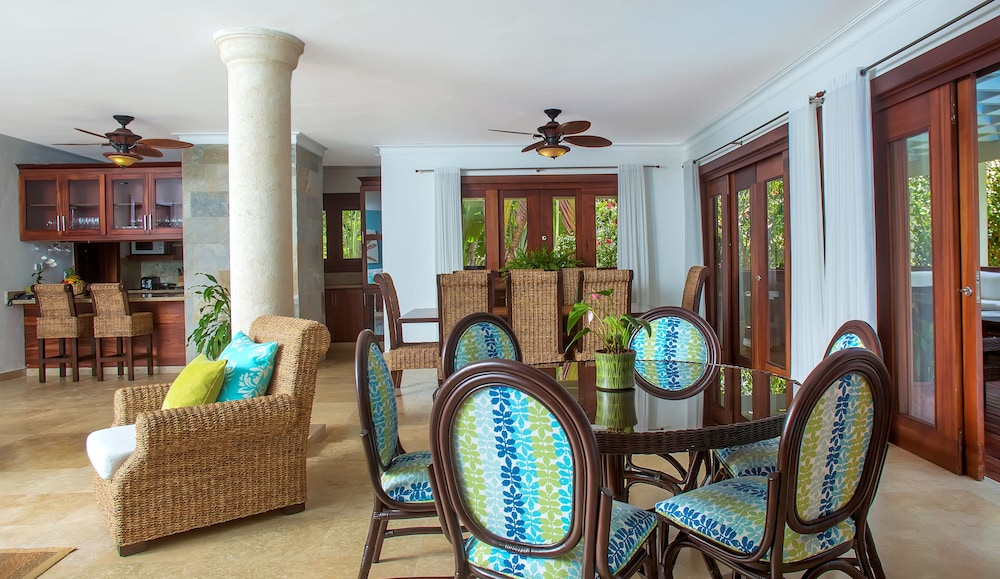 Dining room, Casa de Campo Resort and Villas
