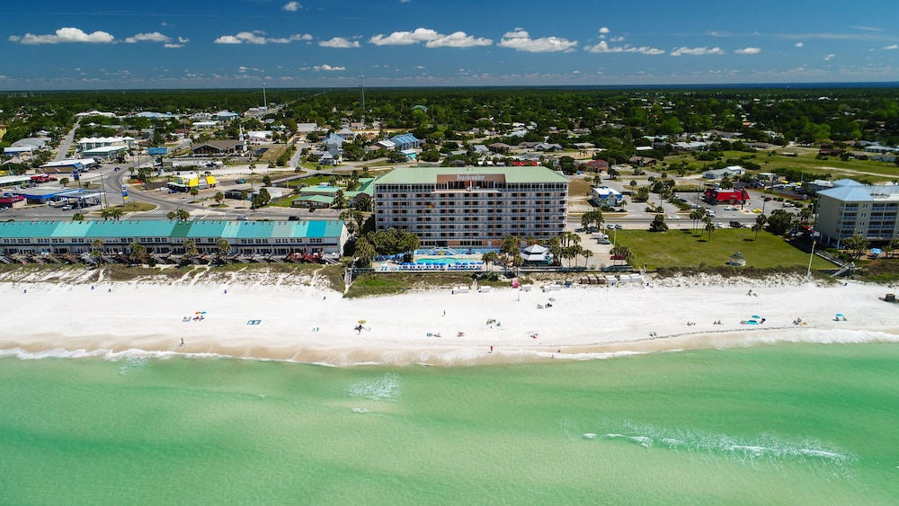 Aerial View, Beachcomber By The Sea