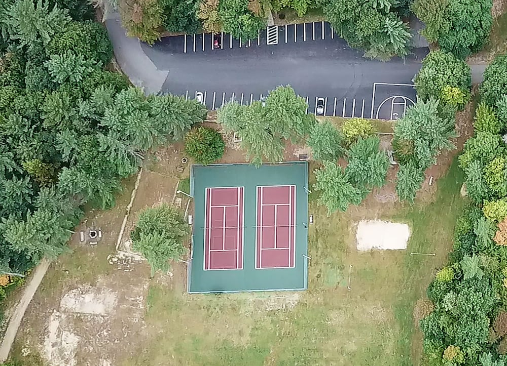 Tennis Court, Attitash Mountain Village