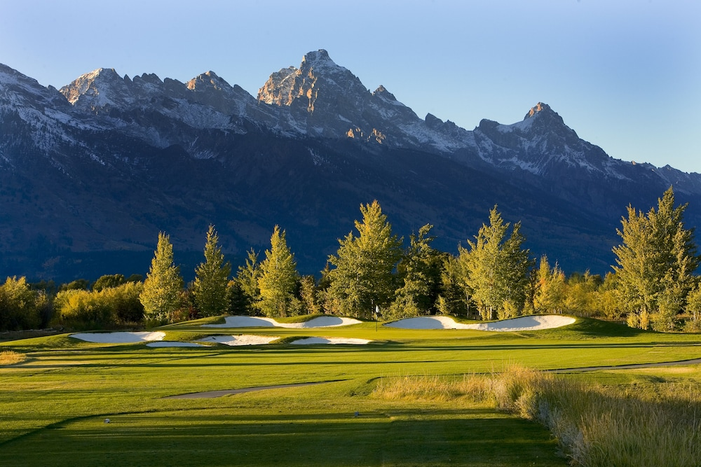 Golf, Jackson Lake Lodge