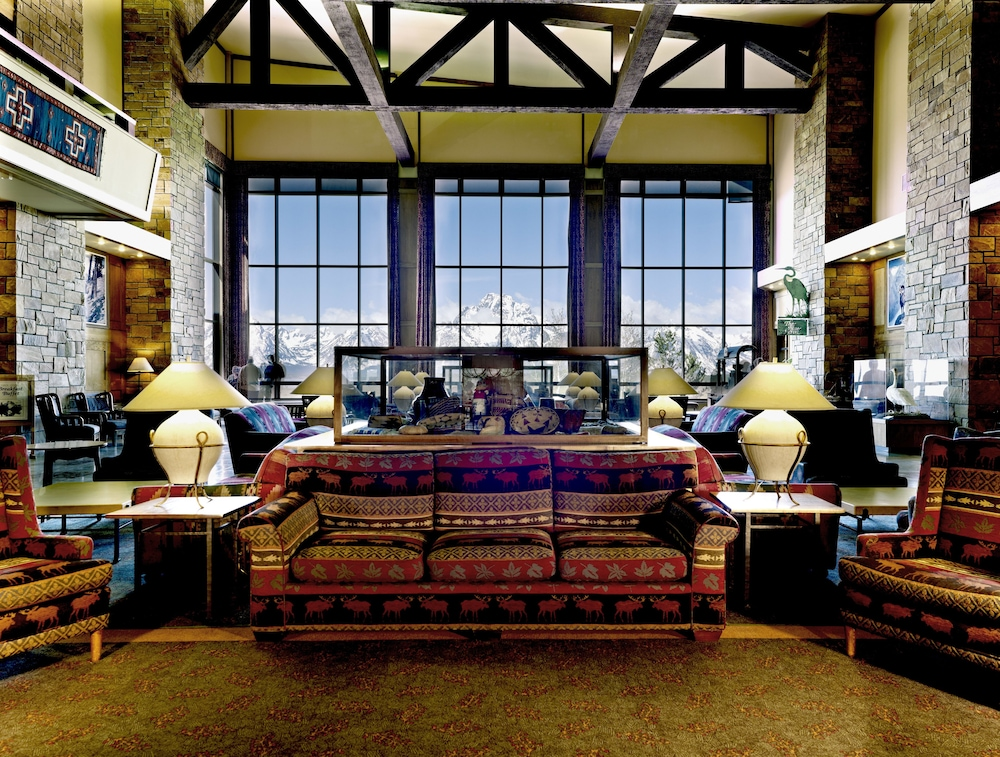 Lobby Sitting Area, Jackson Lake Lodge