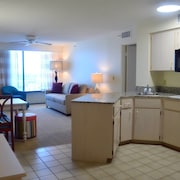 Cozinha americana (no quarto)