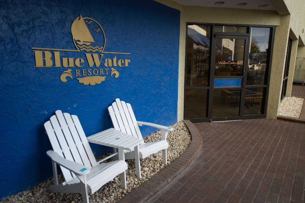 Property Entrance, Blue Water Resort