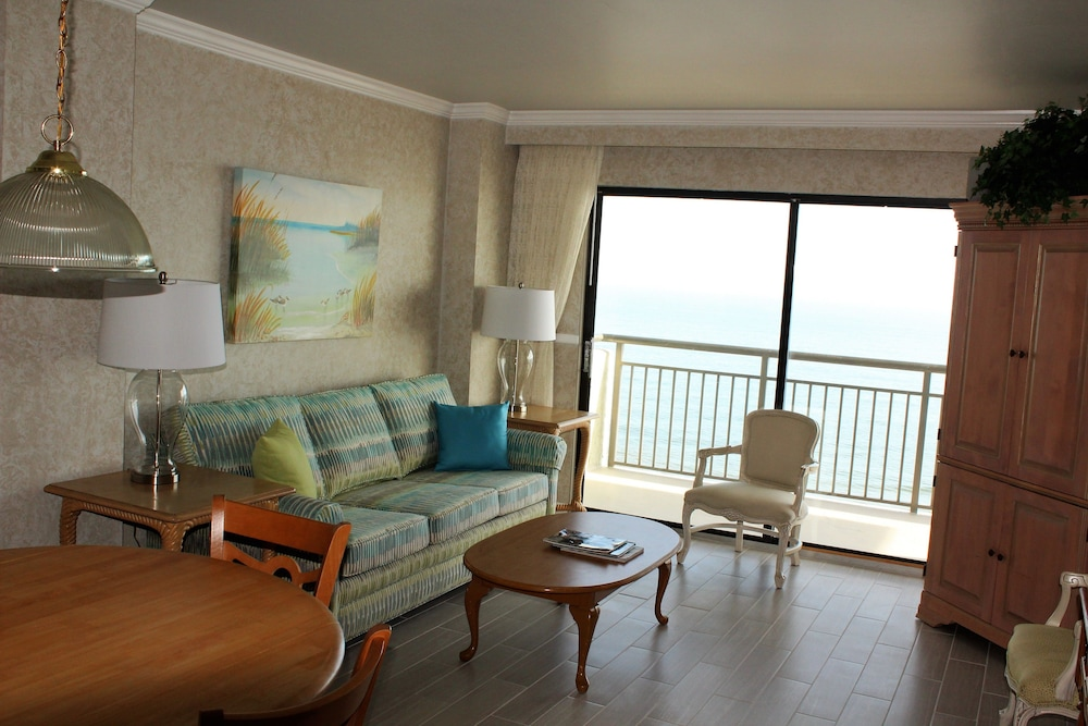 Living Room, Blue Water Resort
