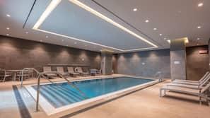 2 indoor pools, open 6 AM to 10 PM, cabanas (surcharge), pool umbrellas