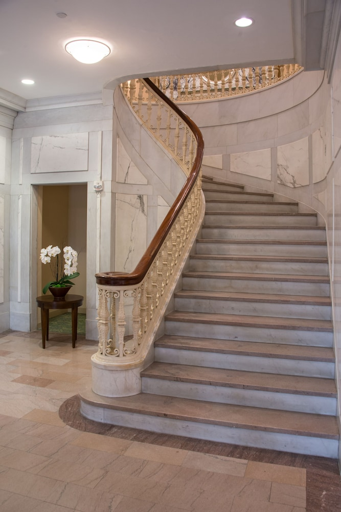 Staircase, Southbridge Hotel and Conference Center