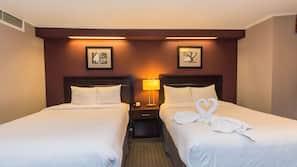 Desk, rollaway beds, free WiFi, alarm clocks