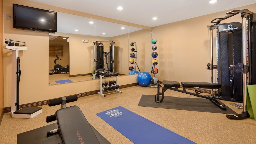 Fitness Facility, Best Western Plus The Inn at Sharon/Foxboro