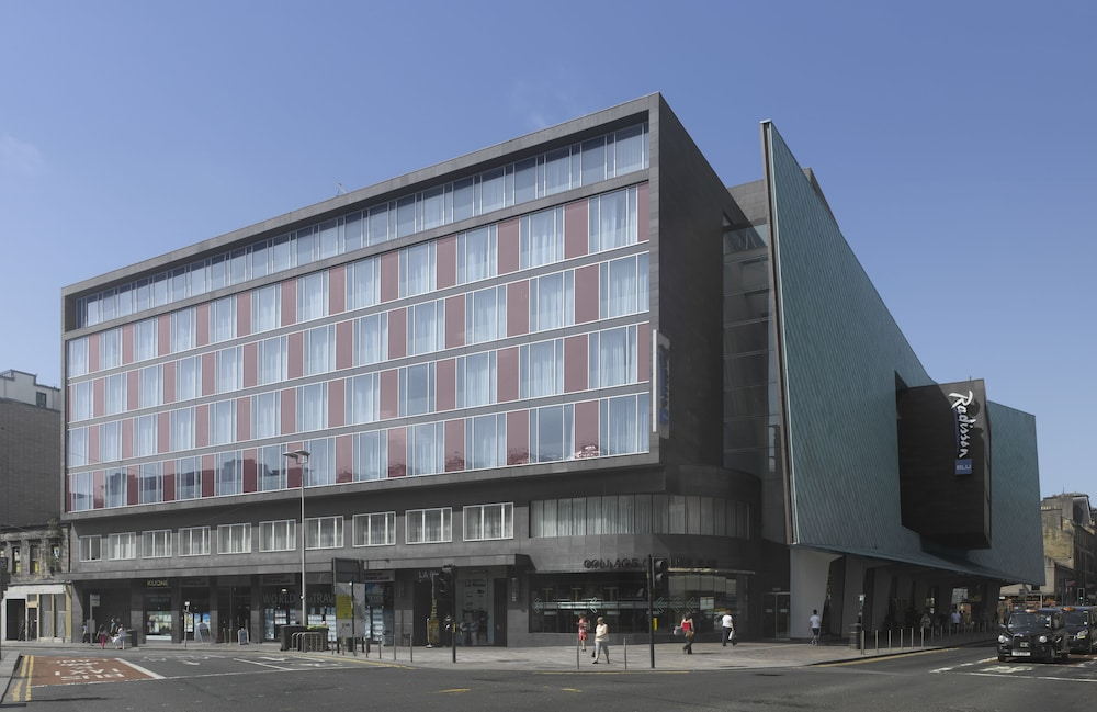 Front of Property, Radisson Blu Hotel, Glasgow