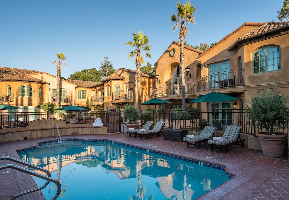 Outdoor Pool, Hotel Los Gatos