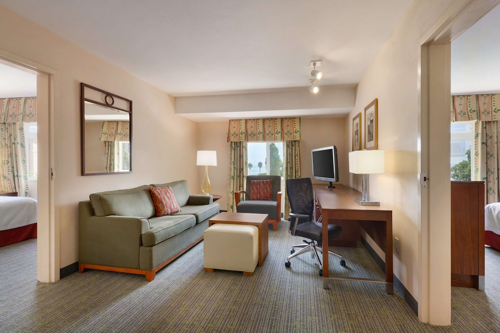 Living Area, Homewood Suites by Hilton San Francisco Airport North
