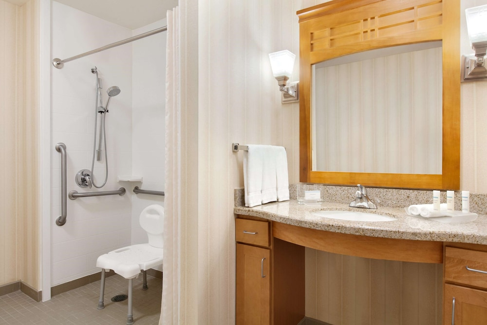 Bathroom, Homewood Suites by Hilton San Francisco Airport North