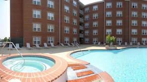 季節性室外泳池;泳池傘