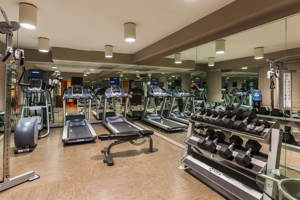 Fitness Facility, The Sam Houston, Curio Collection by Hilton