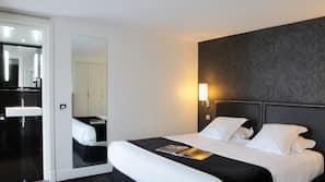 1 間臥室、保險箱 (可放手提電腦)、免費 Wi-Fi、鬧鐘
