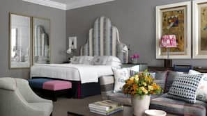 Frette Italian sheets, premium bedding, minibar, in-room safe