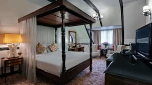 Free minibar items, in-room safe, blackout drapes, iron/ironing board