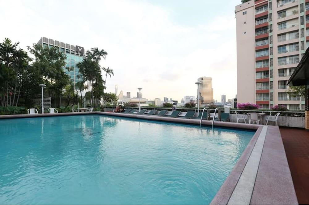 Outdoor Pool, Asia Hotel Bangkok