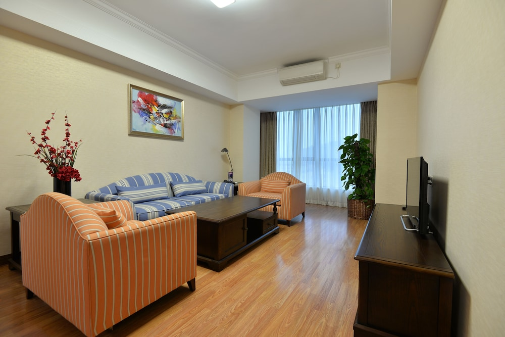 Living Area, New Harbour Service Apartments