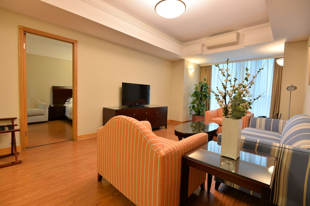 Living Room, New Harbour Service Apartments