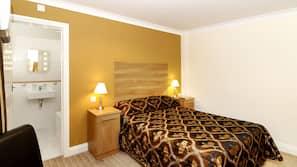 Pillow top beds, desk, WiFi, linens