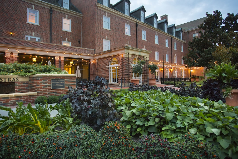 Garden, The Atherton Hotel At OSU