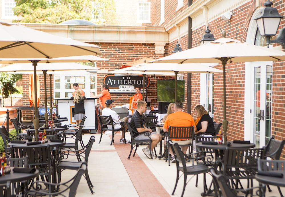 Outdoor Dining, The Atherton Hotel At OSU