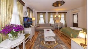 1 Schlafzimmer, Bettwäsche aus ägyptischer Baumwolle