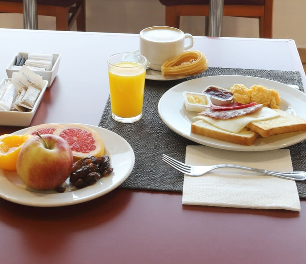 Breakfast buffet, Poseidon Resort