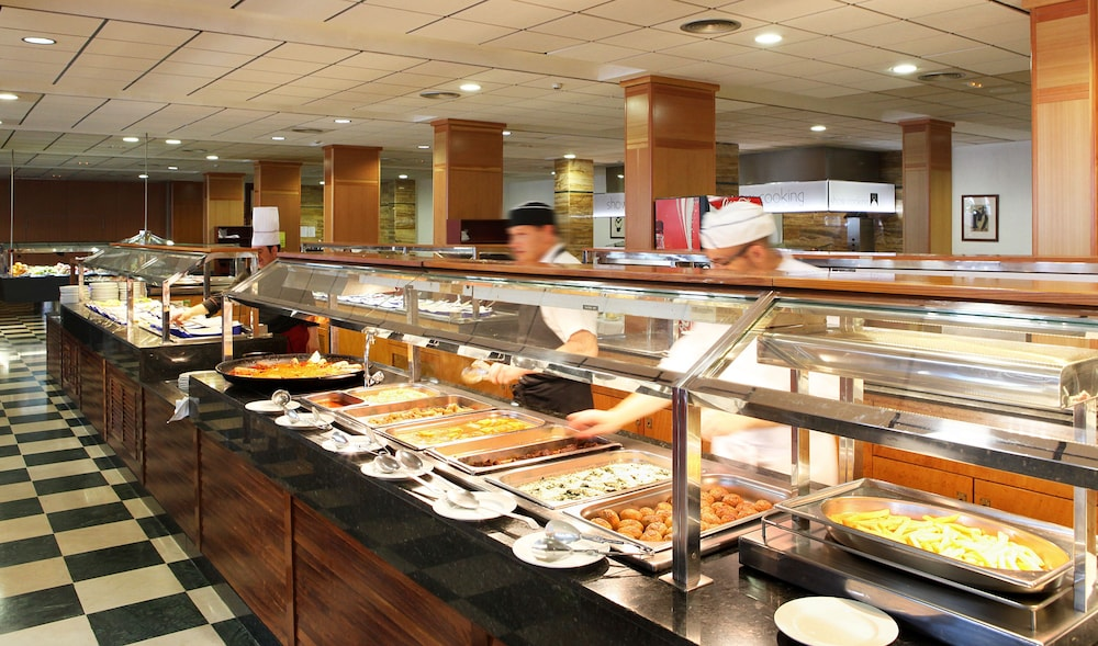 Buffet, Poseidon Resort